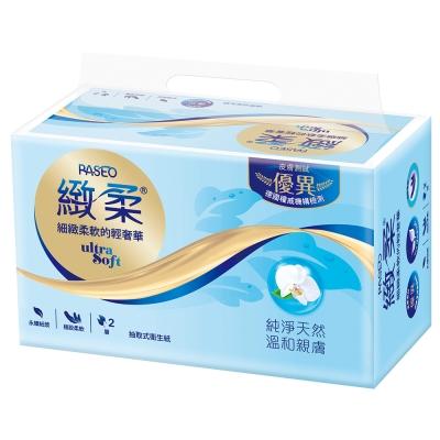 PASEO緻柔抽取式衛生紙100抽8包6袋/箱