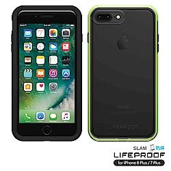 LIFEPROOF iPhone8+/7+專用 吸震抗衝擊防摔手機殼-SLAM(黑綠)