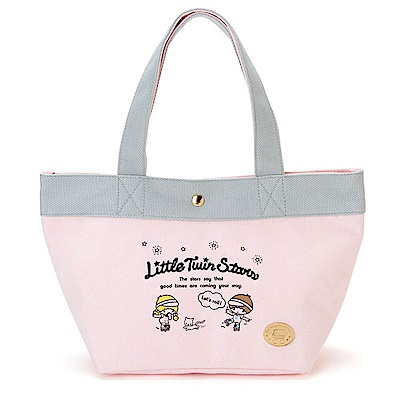 Sanrio 雙星仙子迷你帆布提袋(快樂滑輪) @ Y!購物