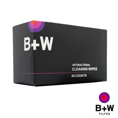 B+W-光學精密器材專用濕式拭鏡紙50入