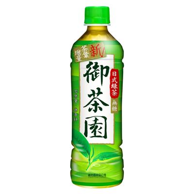 御茶園 日式綠茶-無糖(500mlx24入)