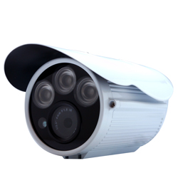 監視器攝影機 - 奇巧 AHD 720P SONY 130萬畫素高功率三陣列夜視攝影機