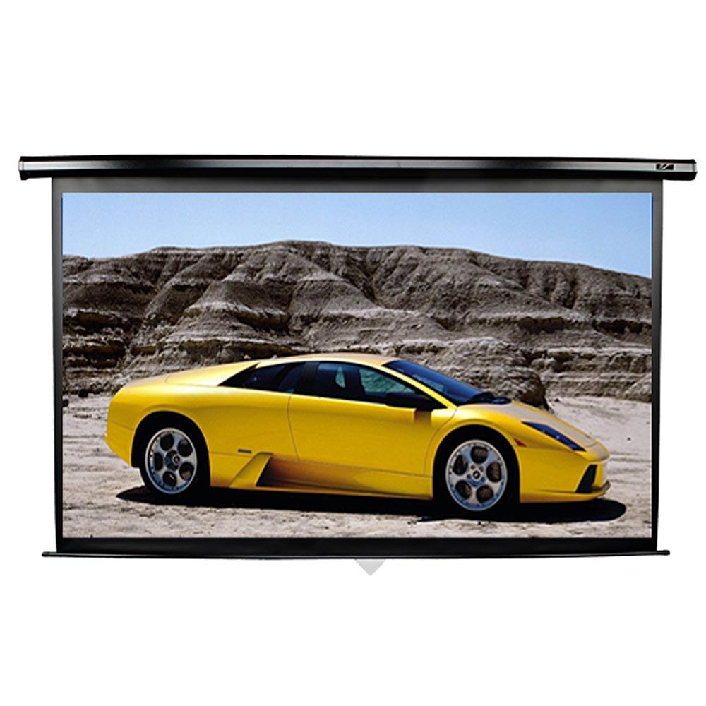 Elite Screens億立銀幕 106吋16:9上黑邊61CM升級版暢銷型電動幕