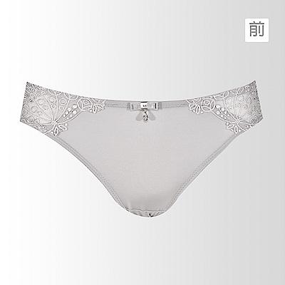 黛安芬-艾聖思 日落巴黎系列低腰內褲 M-L(晚霞灰)