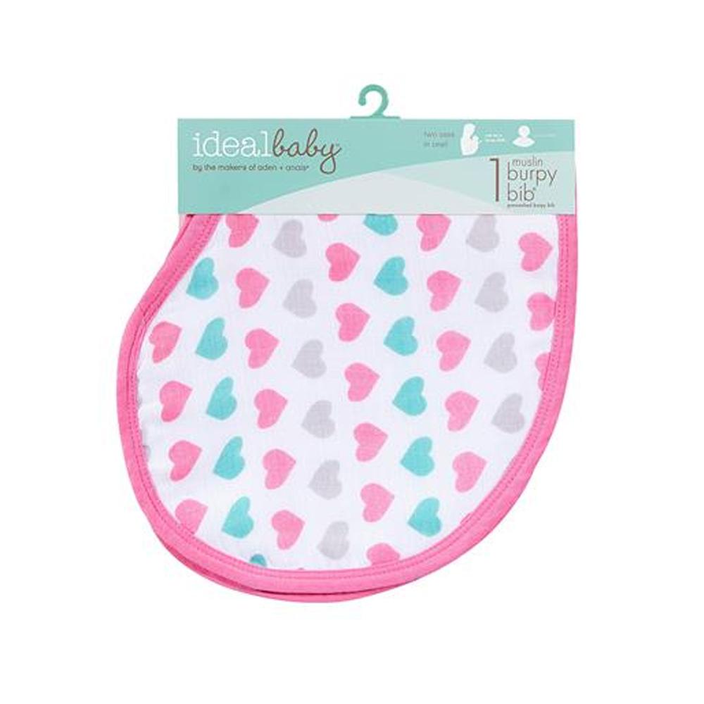 美國idealbaby 幼兒打嗝巾(1入)-甜心系列 IB300
