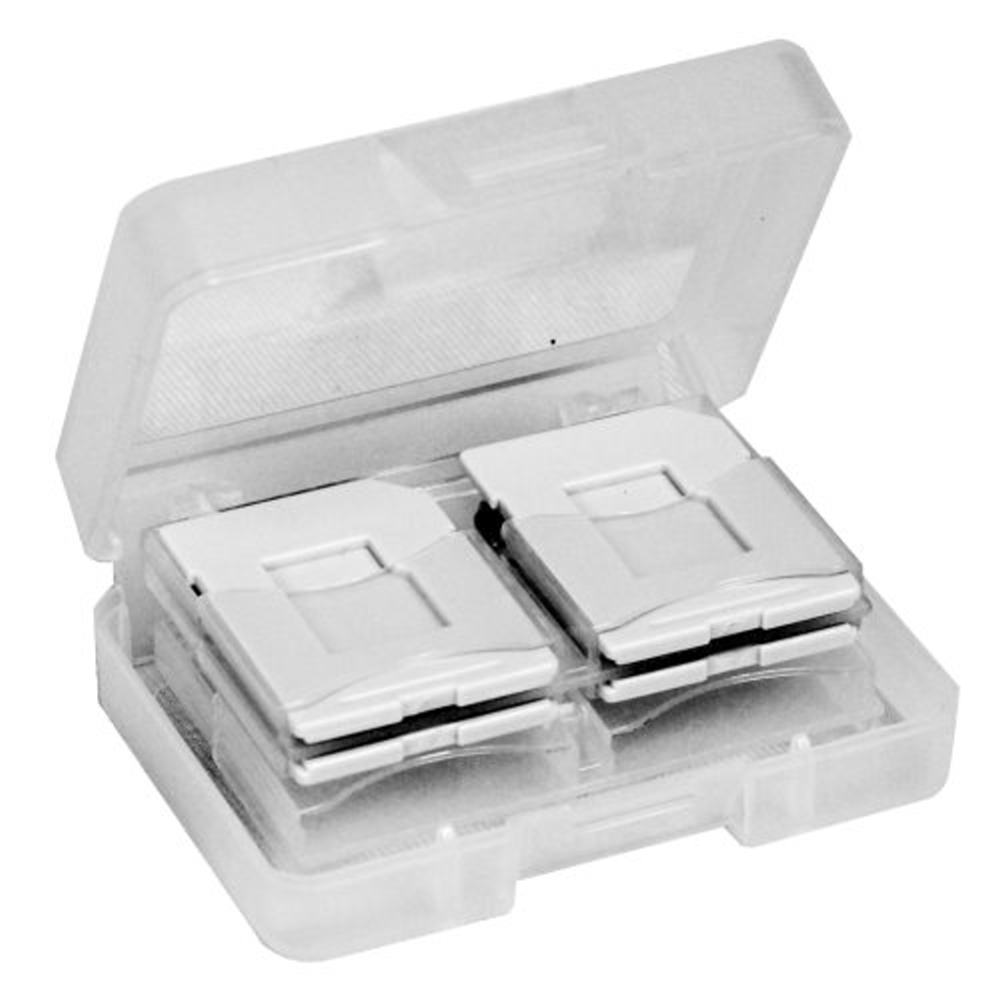 DigiStone SD/SDHC/ MircoSD 炫彩記憶卡收納盒(8片裝)- 灰色