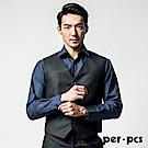 per-pcs 低調品味質男修身馬甲_黑色(817601)