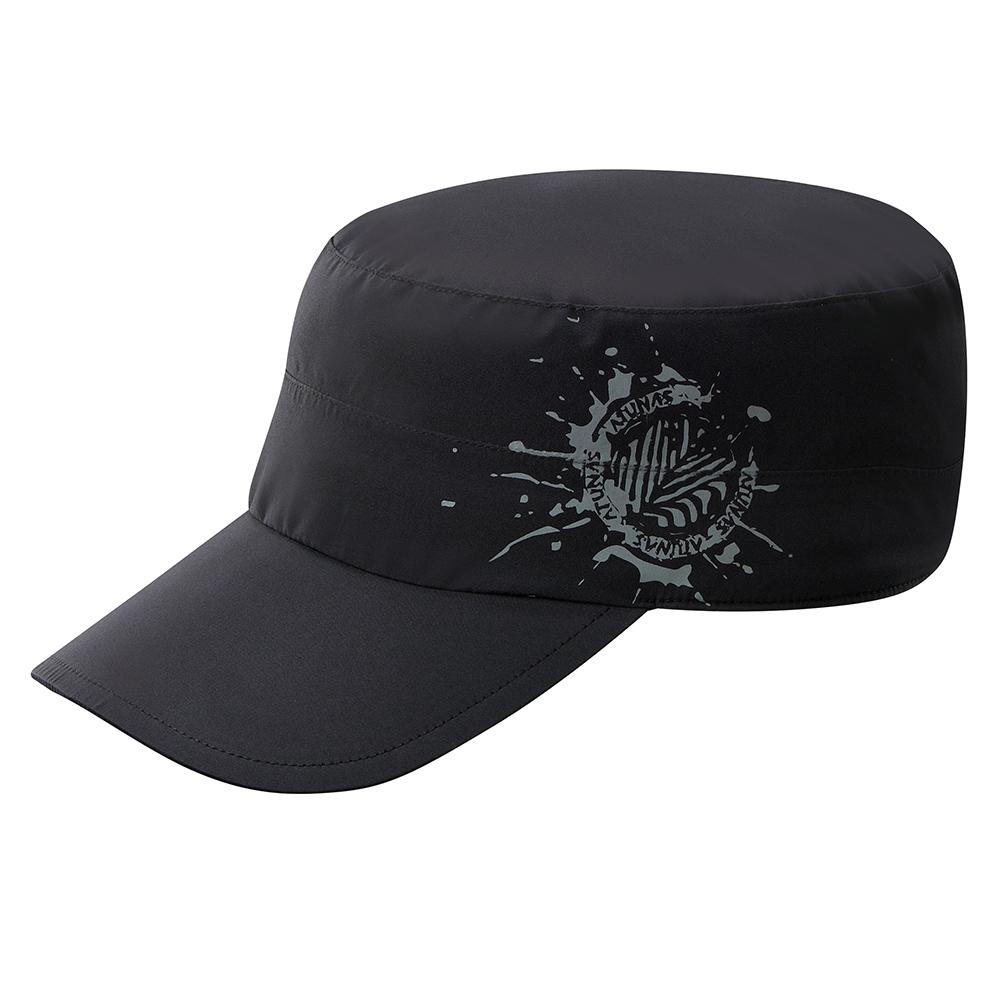 【ATUNAS 歐都納】GORE-TEX防風防水防曬休閒便帽鴨舌帽A-A1716黑