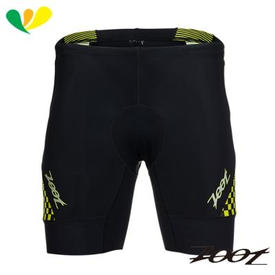 ZOOT 專業級7吋肌能鐵人褲(男)(格紋黃) Z1706021