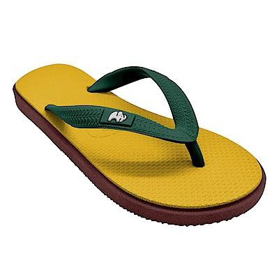 Fipper KIDS 天然橡膠拖鞋 YELLOW-GREEN