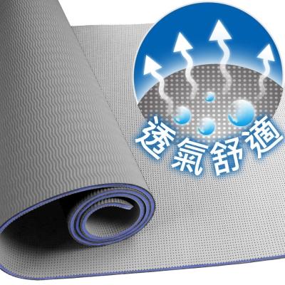 Yenzch 伸展瑜珈墊/TPE(時尚灰) RM-11104《贈外背袋》