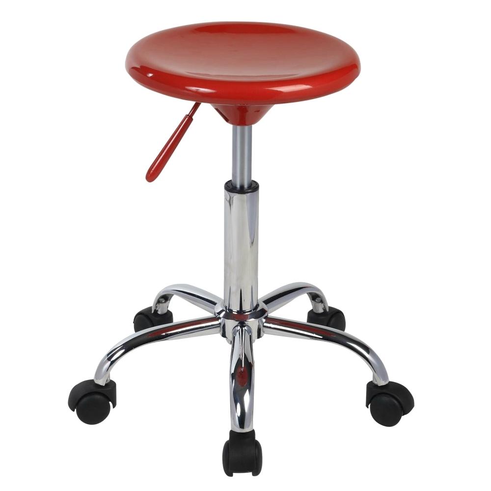 E-Style 高級鍍鉻金屬氣壓棒五爪腳-吧台椅/工作椅-2入組(三色)