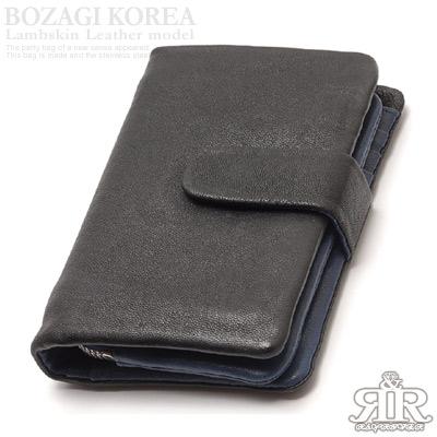 【2R】復刻羊皮KEEPALL中夾(百搭黑藍)