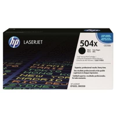 HP CE250X 504X 原廠黑色高容量碳粉匣