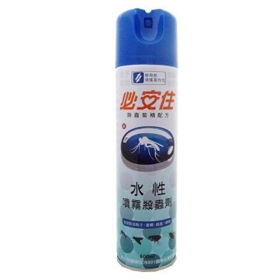 必安住 水性噴霧殺蟲劑 600ml瓶