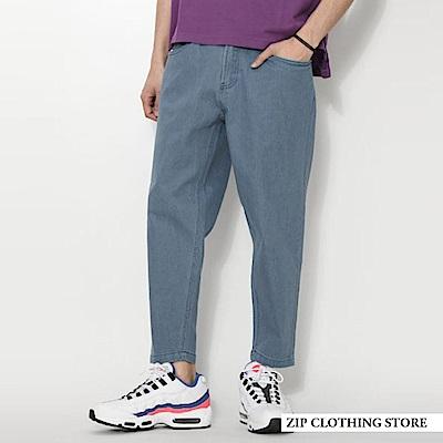 大直筒寬褲(5色) ZIP日本男裝