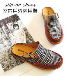 復古唱盤文青懶人鞋