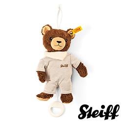 STEIFF德國金耳釦泰迪熊 -  Basti Bear (嬰幼兒音樂鈴)