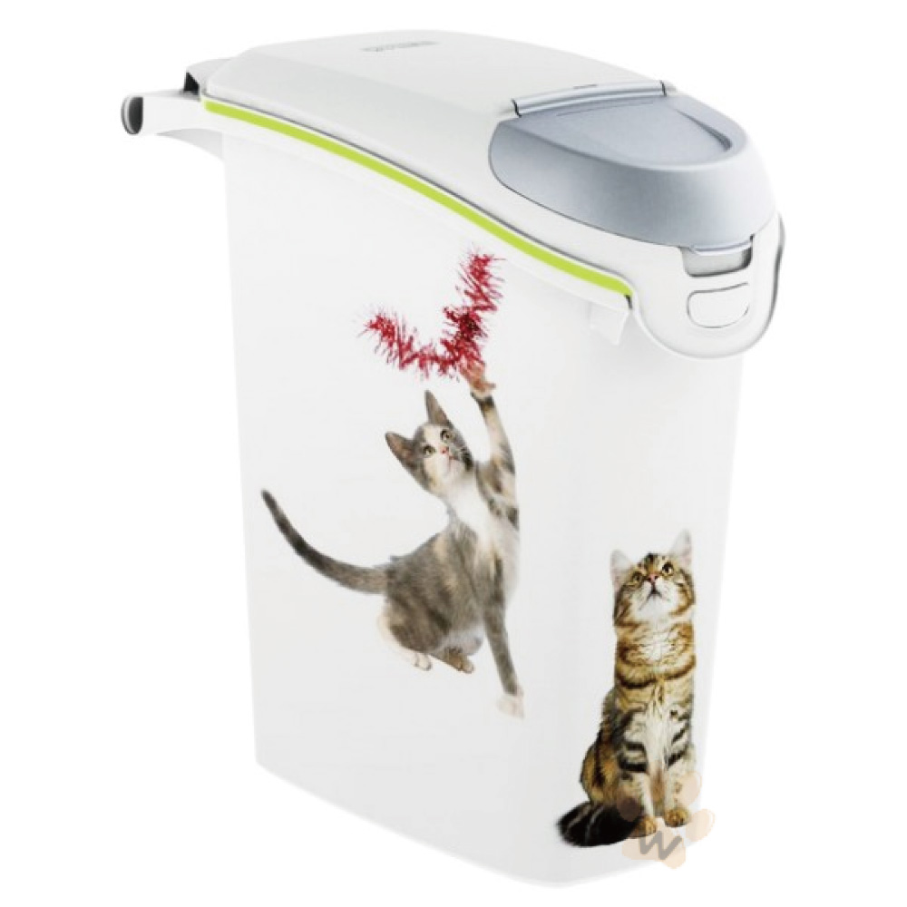 荷蘭CURVER 寵物用儲存桶 貓咪款10kg 1入