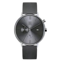 ZOOM REFINE 純粹雅仕雙眼錶-灰 /44mm
