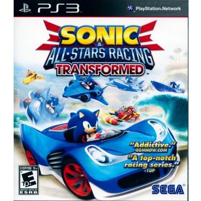 音速小子-SEGA-超級巨星大賽車-變形-PS3