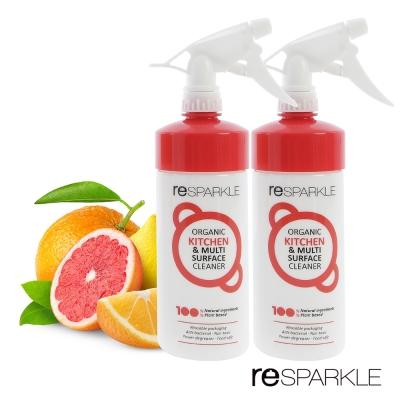澳洲reSPARKLE 綠思寶-清潔劑-2入(廚房、多功能)