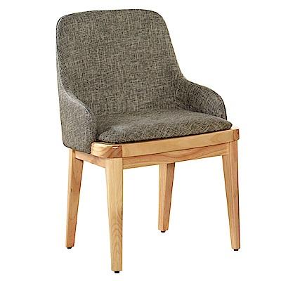 AT HOME-原色實木耐磨貓抓皮餐椅(51*46*83cm)荷比