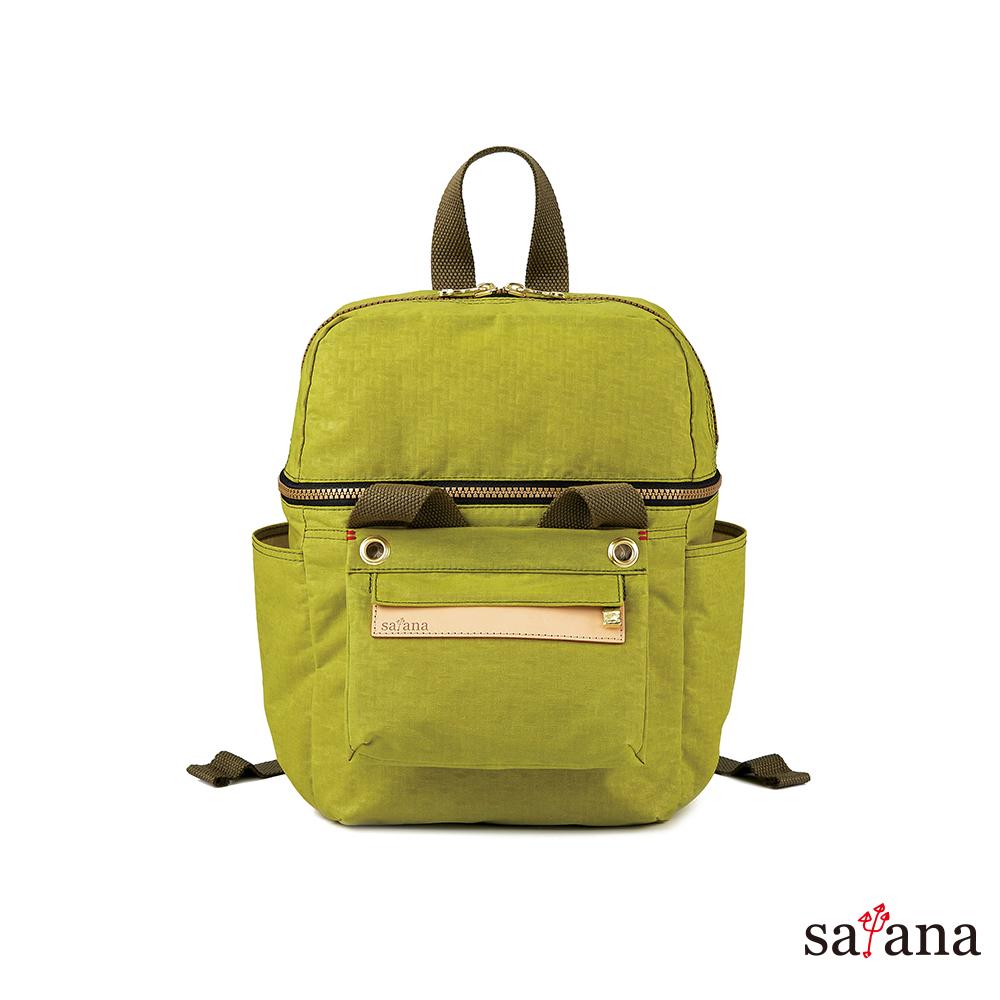 satana -Soldier 豐富日常可拆式後背包 - 檸檬香茅