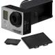 GoPro HERO 3+ 3 副廠 電池蓋+攝像機側蓋 防塵保護組 product thumbnail 1