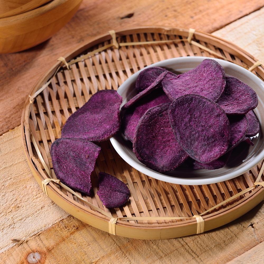 每日優果 紫地瓜脆片(160g)