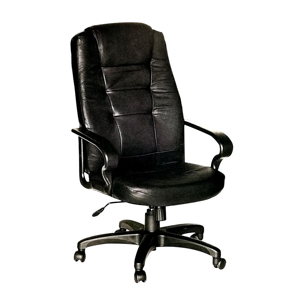 Bernice-福雷半牛皮主管辦公椅-63x55x112cm