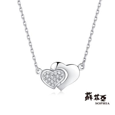 蘇菲亞SOPHIA 鑽鍊 - 愛的羈絆鑽石套鍊