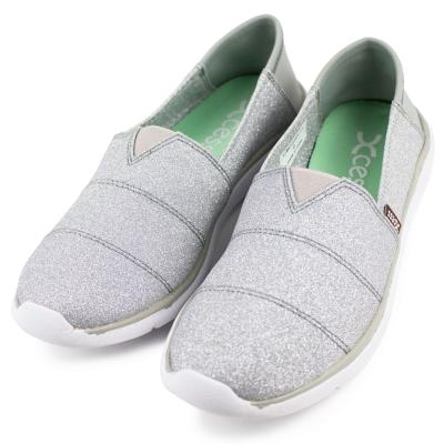XCESS-女休閒鞋GW049SIL-星空銀