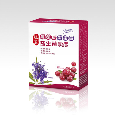 娘家 蔓越莓聖潔莓益生菌1盒組
