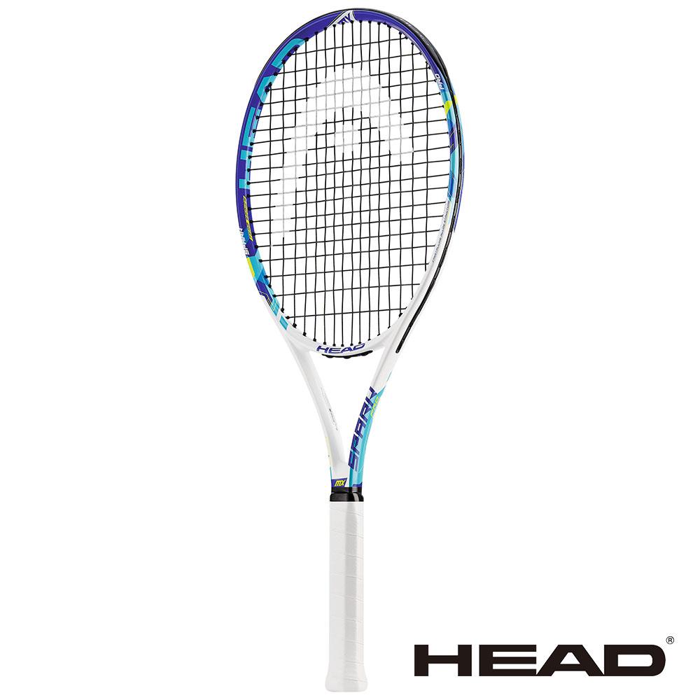 HEAD Spark Pro 網球拍-白藍