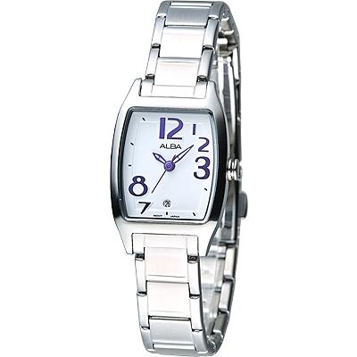 ALBA 炫彩紫色刻度時尚女錶(AH7425X1)/25mm 保固二年