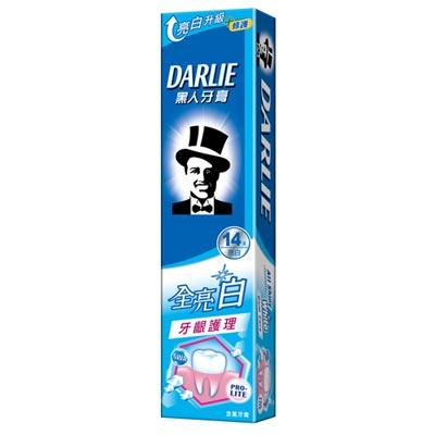 黑人全亮白 牙齦護理牙膏  140g