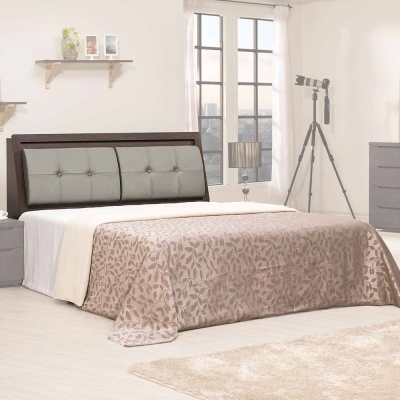Homelike-克里斯床台組-雙人5尺-不含床墊