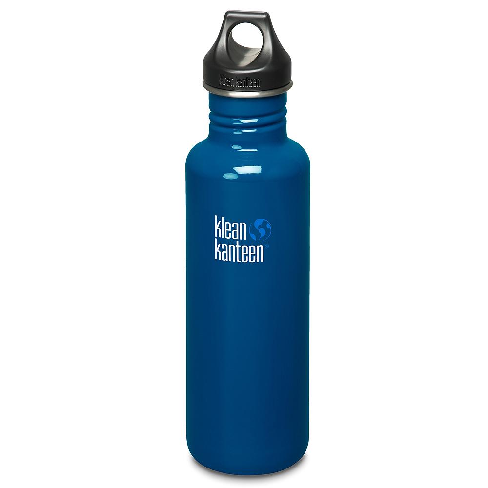 美國Klean Kanteen不鏽鋼瓶800ml-地球藍