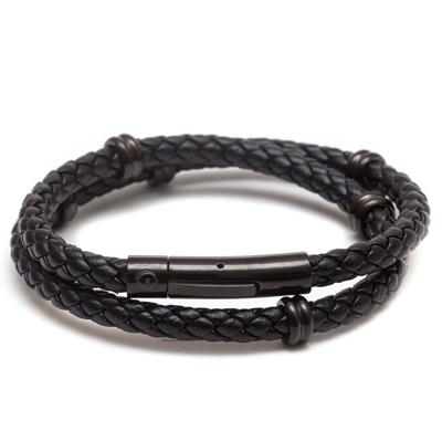 ZENGER 經典時尚皮繩系列-黑