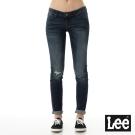 Lee 牛仔褲 403 超低腰合身窄管-女款-中古中藍