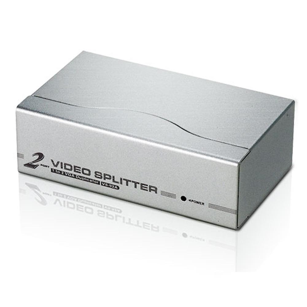 ATEN 2埠視訊分享器 VS92A