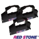 RED STONE for PRINTEC PR836S黑色色帶組(1組3入) product thumbnail 1