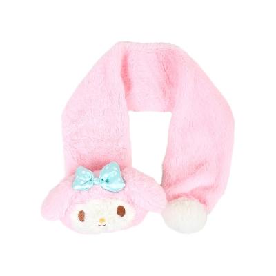 Sanrio 美樂蒂玩偶造型兒童圍巾(點點蝴蝶結)
