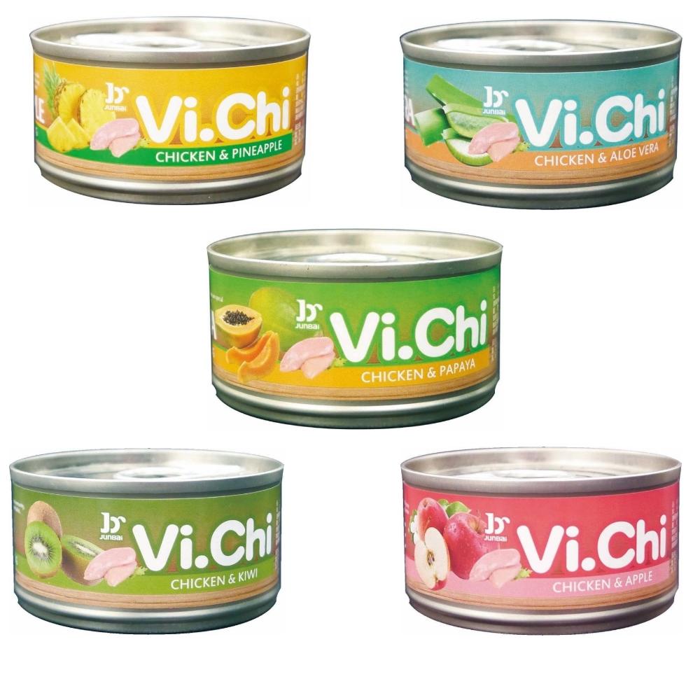 Vi.Chi維齊 嫩雞纖果罐 80g