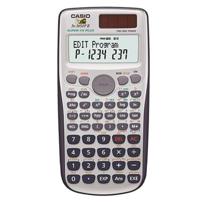 CASIO卡西歐 新一代程式編輯型工程計算機 FX-3650PII