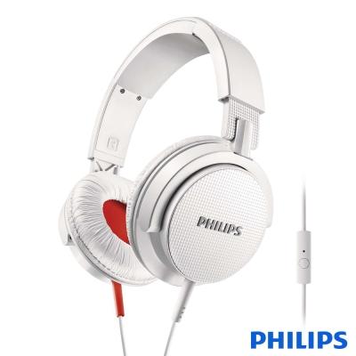 PHILIPS 飛利浦 DJ監控風格設計 頭戴式耳機 SHL3105WT
