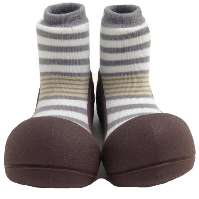 韓國 Attipas 學步鞋 正廠品質有保證尺寸齊全AN04-花香棕色