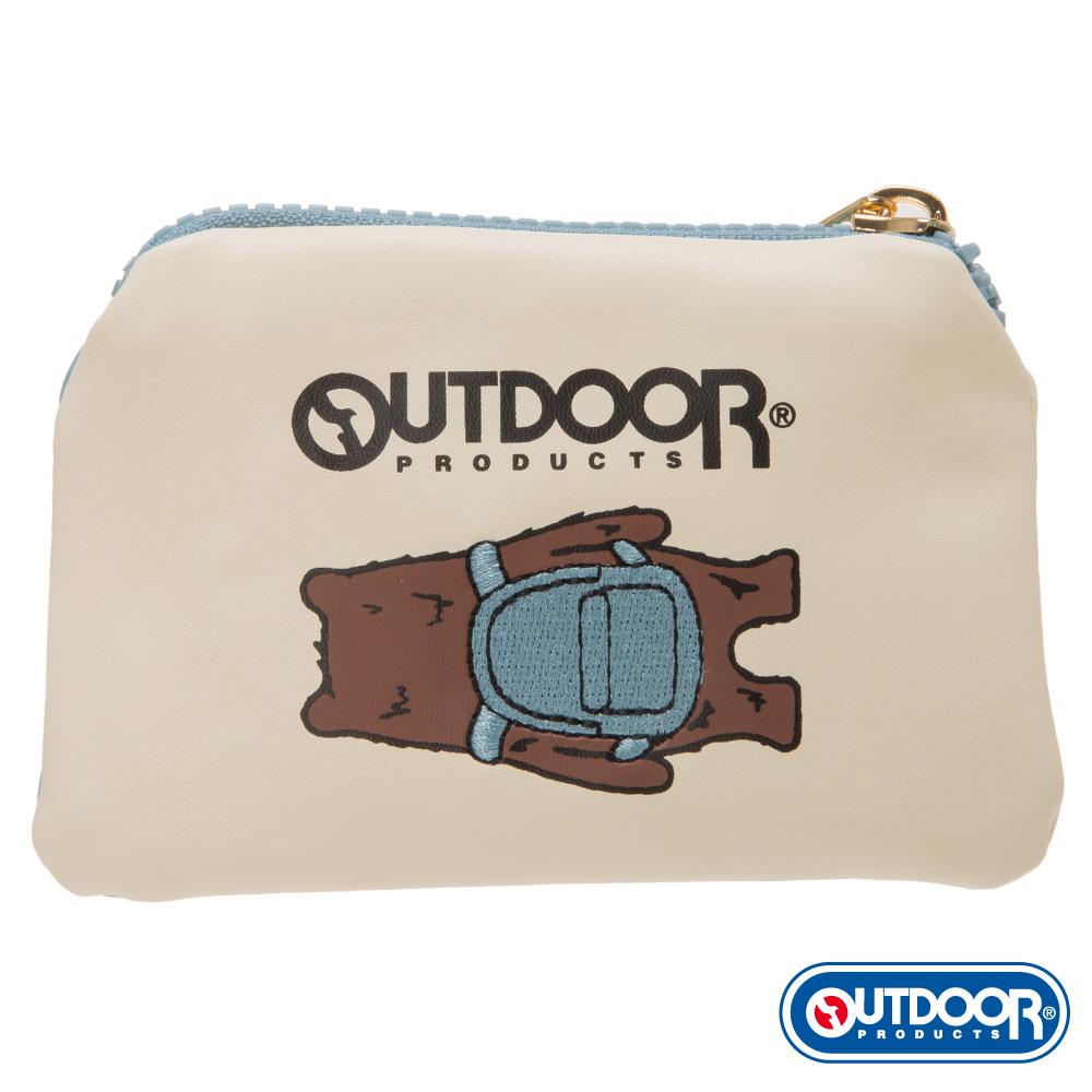 OUTDOOR-有BEAR而來系列-背影熊零錢包-藍 ODS162D101BL