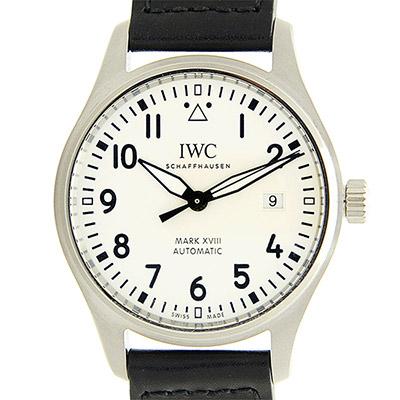 IWC 萬國錶 馬克十八飛行員款(IW327002)x白x40mm